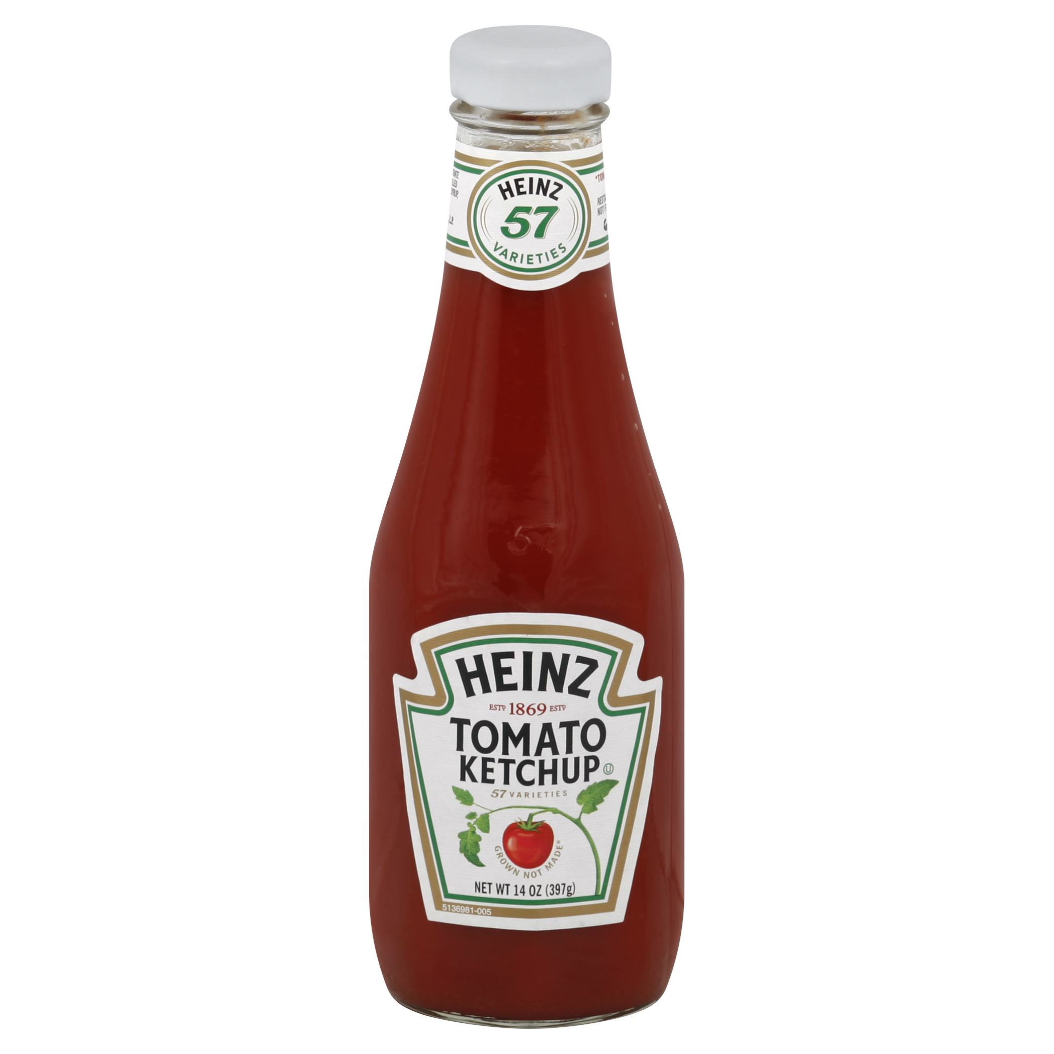 10013000513903 Ketchup 14OZ Glass Bottle
